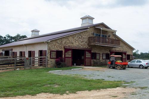 Barn at Don E Mor Farm