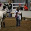 Peyton Carrington & My Friend Casper place in the top ten of Pony Working Hunter. Photo by Hannah Sather.