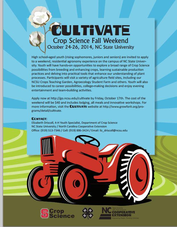 cultivate crop science