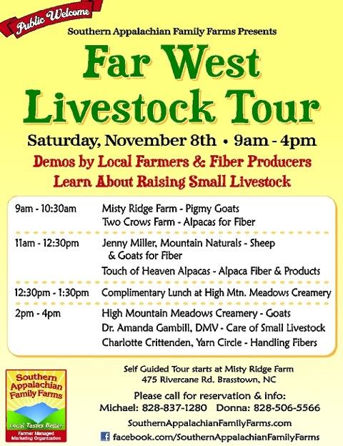 2014 Livestock Tour