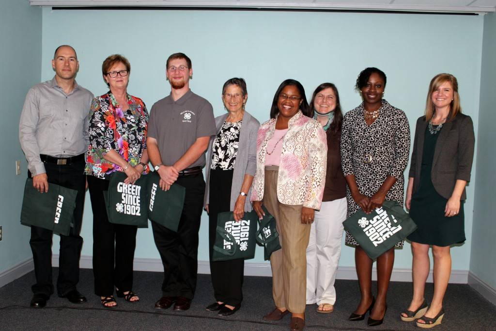 Leslie Dill, New Hanover County 4-H Agent, recognized the club leaders and advisory council members for their commitment to 4-H members and the advancement of the organization.