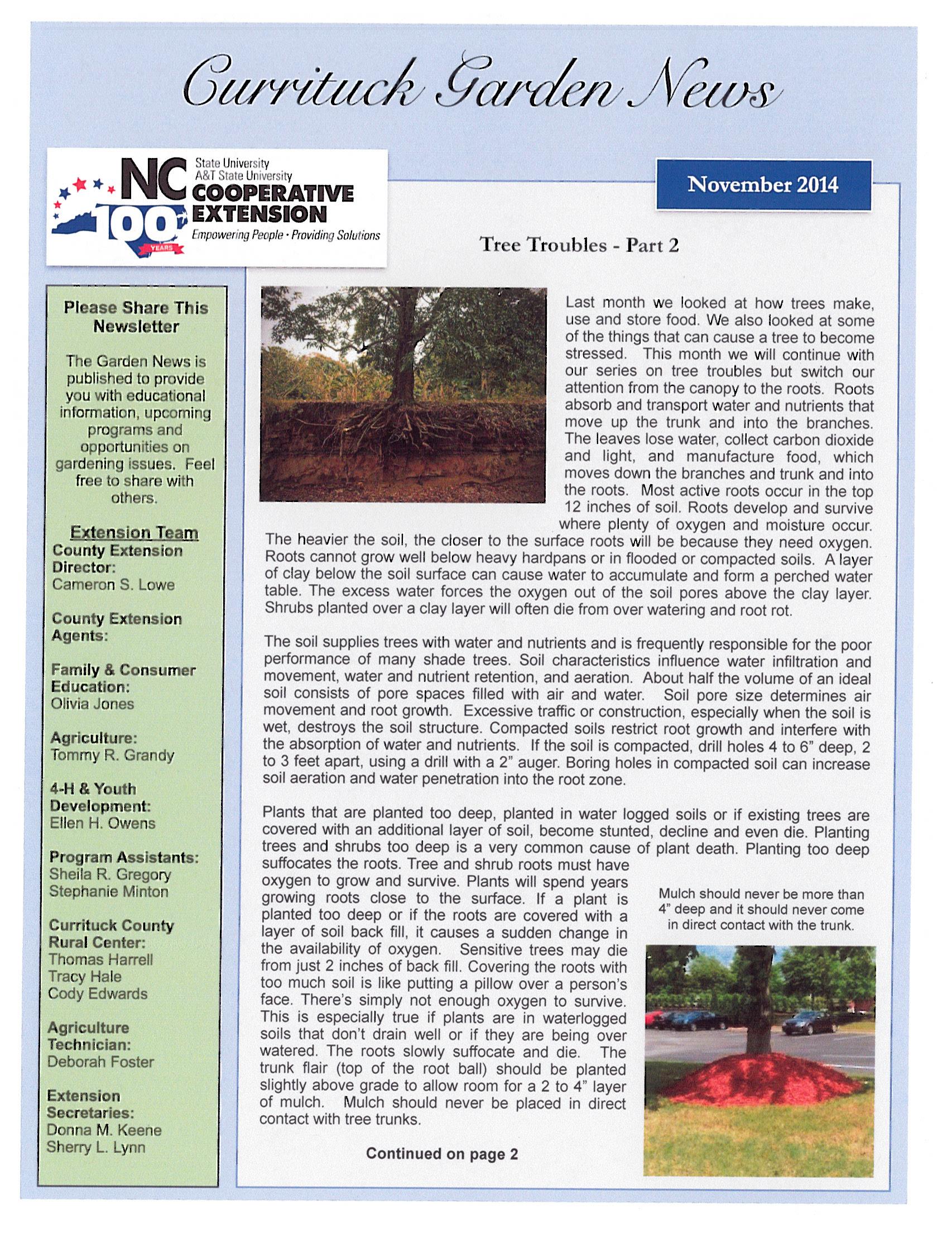 November News 2014