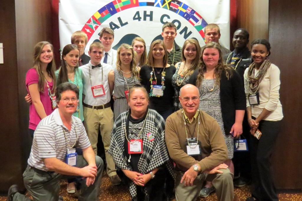 North Carolina 4-H Delegation