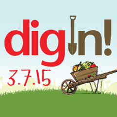Cover photo for Dig In! With Advocates for Health in Action 3/7/2015