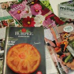 A variety of plant order catalogs