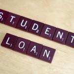 Scrabble tiles: Student Loan