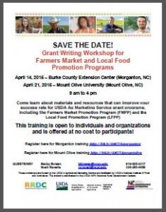 Grant Writing Workshop Brochure