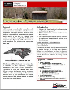 an image of the Tourism Extension factsheet