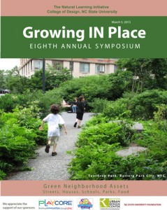 Growing In Place 2015