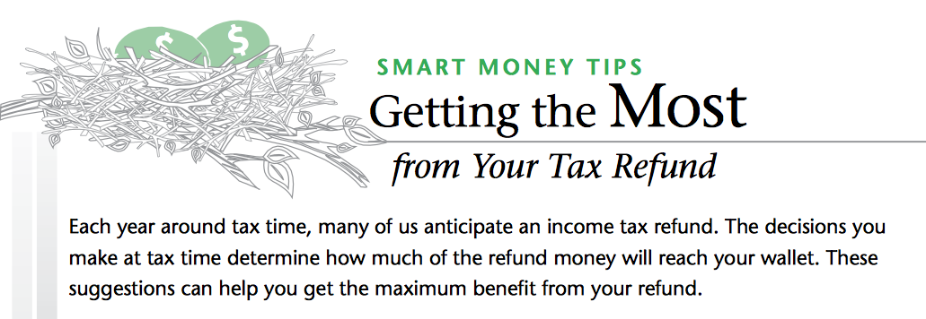 Getting the most tax refund