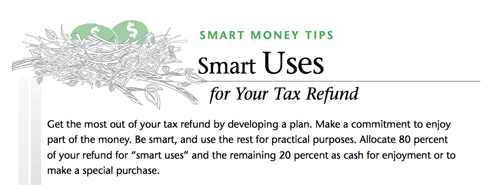 Smart Uses Tax Refund