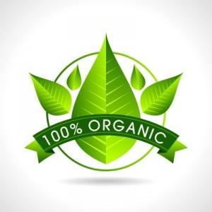 Label reads 100% Organic