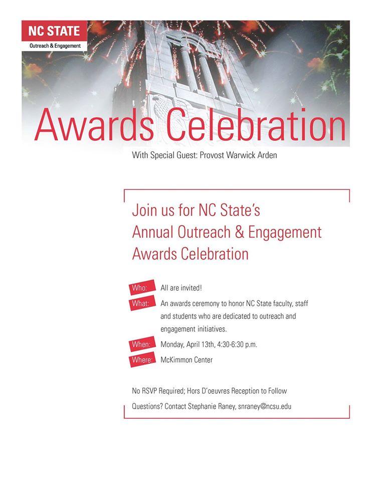 2015 NCSU O&E Banquet flyer