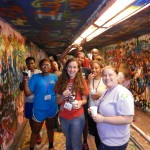 Painting the Free Expression Tunnel