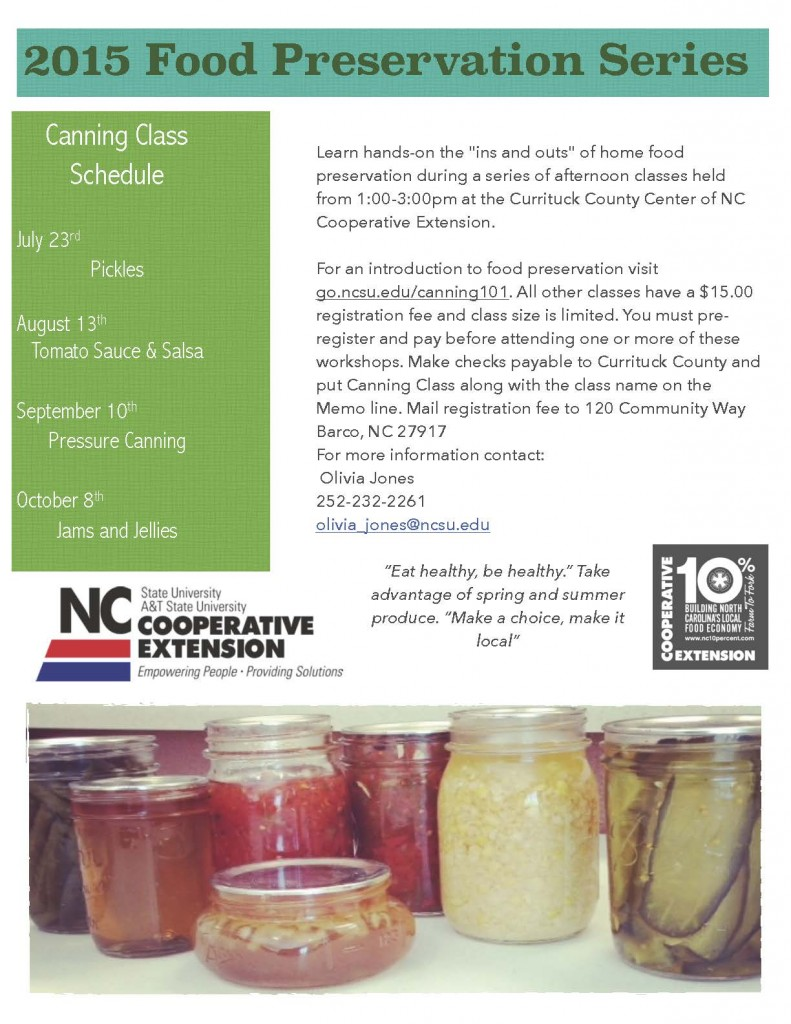 2015 canning flier
