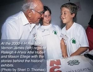 Vernon James and kids