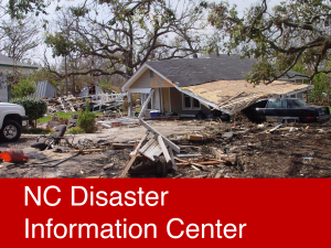nc disaster info center