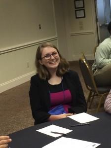 Picture Sabrina Carraway at 4-H Citizenship Focus