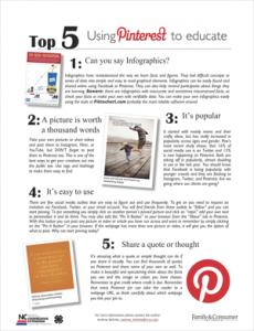 Top 5 Pinterest
