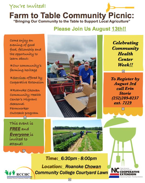 Farm to Table Community Picnic