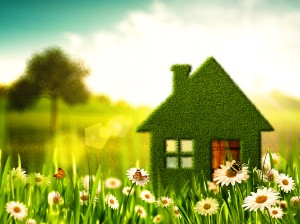 Green House. Abstract environmental backgrounds for your design