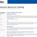 Extension Resource Catalog