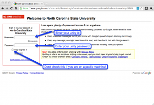 Gmail_at_ncsu