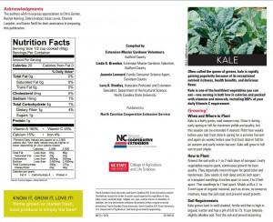 Kale publication