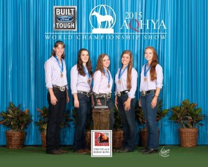 2015 AQHYA World Champions
