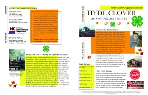 The 2015 Fall Issue of the Hyde Clover is now available. Check out all of the exciting opportunities and events we have to offer!