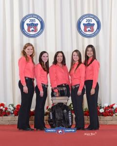 2015 Quarter Horse Congress Horsebowl Team Champions