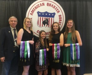 2015 Quarter Horse Congress 7th Place Horse Judging Team
