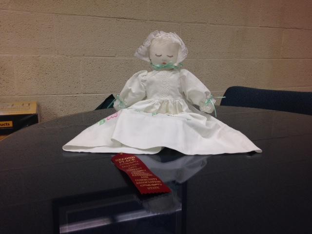 Dana Workman's 2nd place pillowcase doll