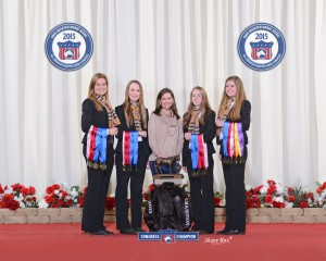 2015 Quarter Horse Congress Hippology Team Champions