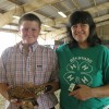 Tanner Queen and 4-H Leader, Laura O'Rourke