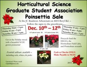 2015 NC State Poinsettia-Sale
