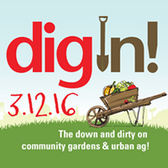Cover photo for Dig In!! Save the Date - 3/12/16 Symposium in Raleigh