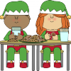 elves-eating-christmas-cookies-milk
