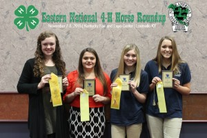 3rd place Communications Team, l to R: Grace Lae, Jamie Gillespie, Audrey Myers, Aurora Myers