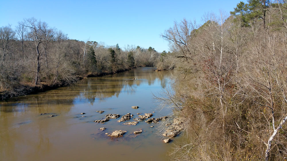 Haw River. Photo by Debbie Roos.