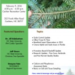 Annual Christmas Tree flyer 2016