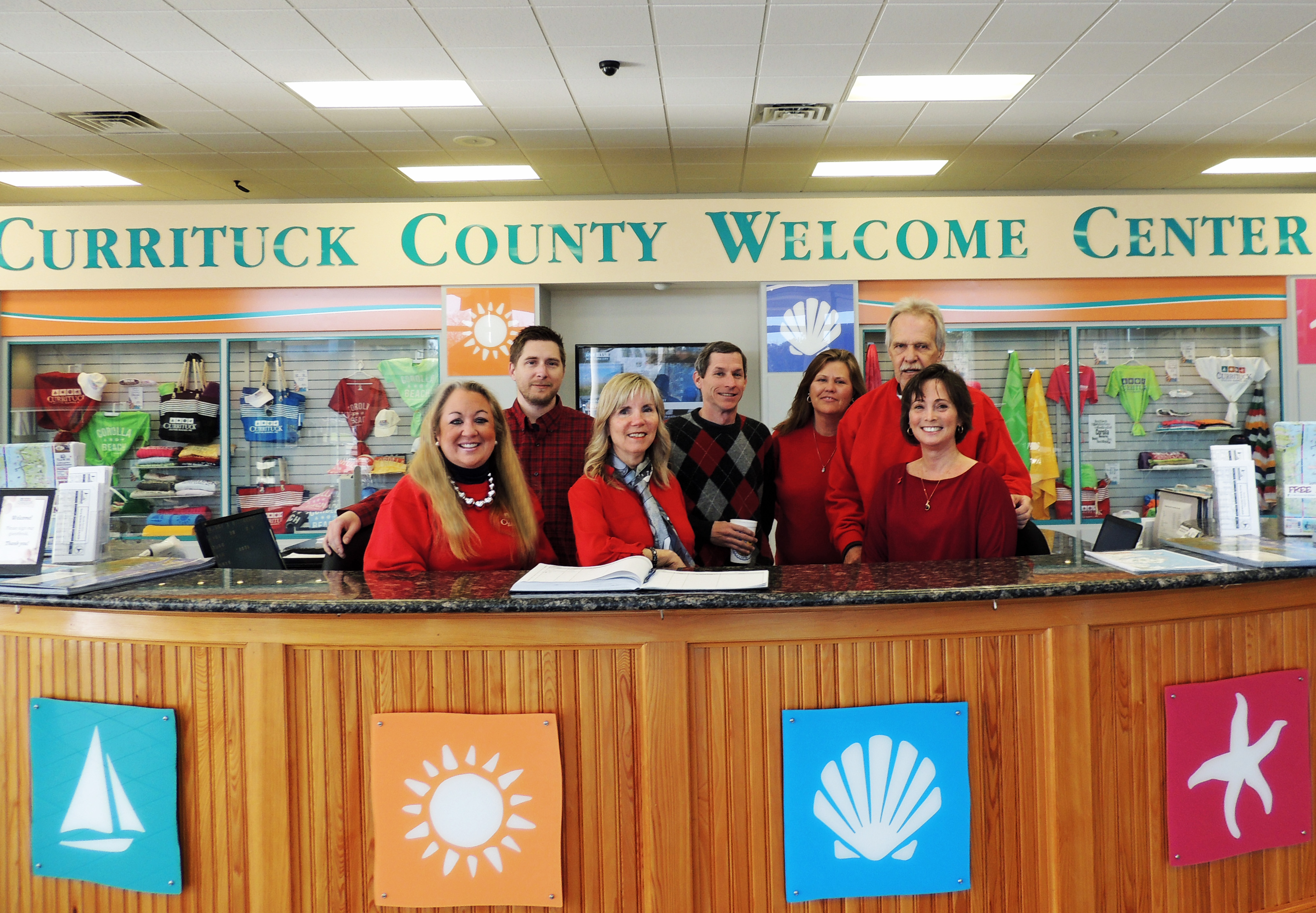 "Currituck Tourism supporting ""Go Red for Women's Heart Health"""