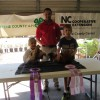 Grand & Reserve Champions at the 2014 Greene County Chicken Show