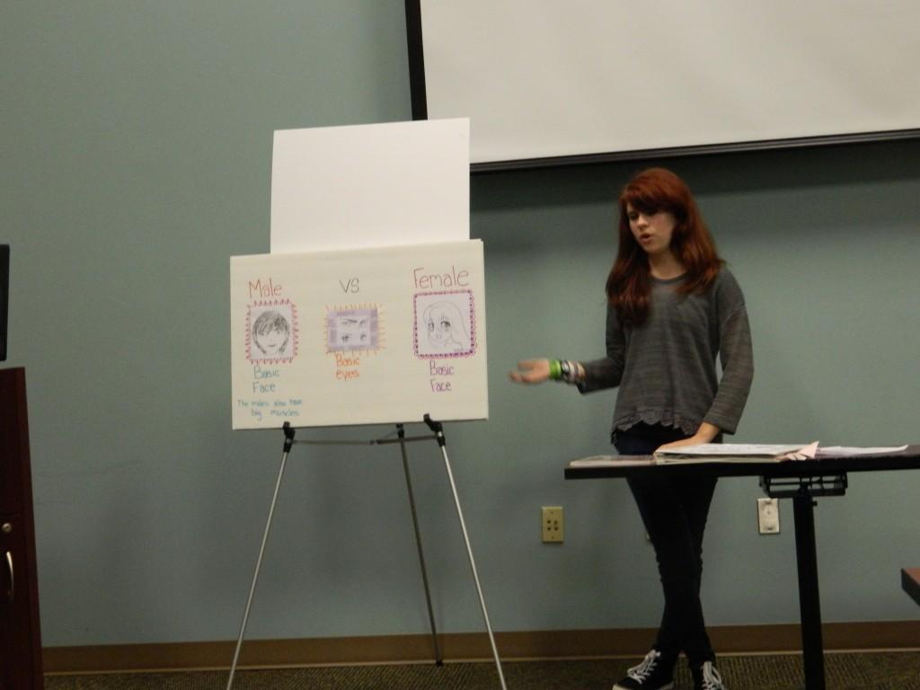 Elizabeth Fillman shares her passion for Manga Artwork.