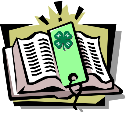 Image result for 4-H Record book clip art