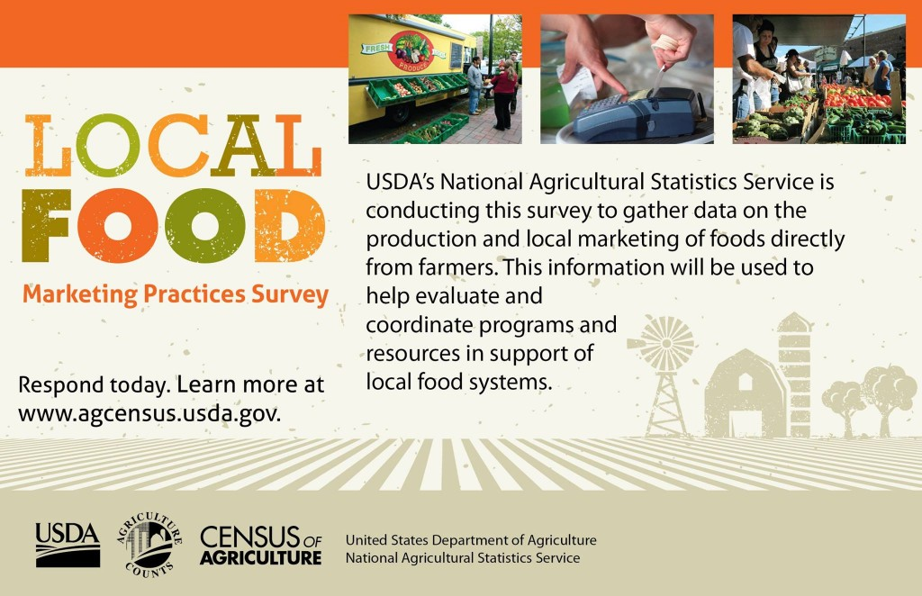 Usda Local Foods Marketing Practices Survey