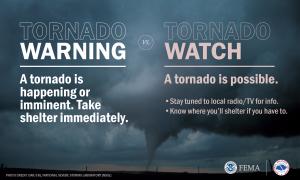 Cover photo for Spring PrepareAthon: Focus on Tornado Preparedness