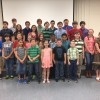 Participants in the 2016 Forsyth County Presentation Competition