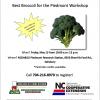 Broccoli Workshop: May 13th 10am - Noon