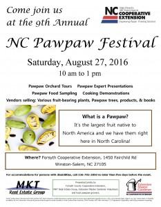 NC Pawpaw Festival